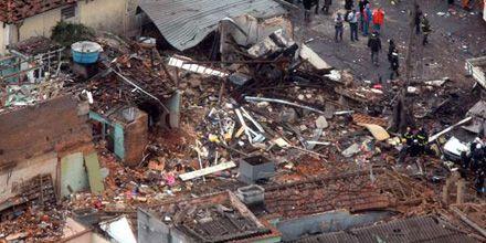 Tres muertos por la explosión en un depósito de fuegos artificiales en Brasil