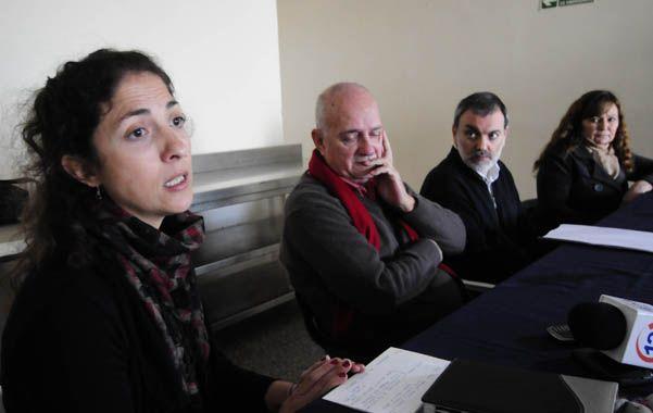 Presentación. Ambientalistas dieron a conocer la iniciativa en Rosario.