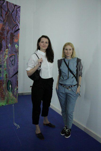 Carla Massolini y Natalia Ceccaldi.