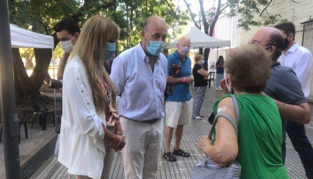 El secretario de Salud Pública Leonardo Caruana.