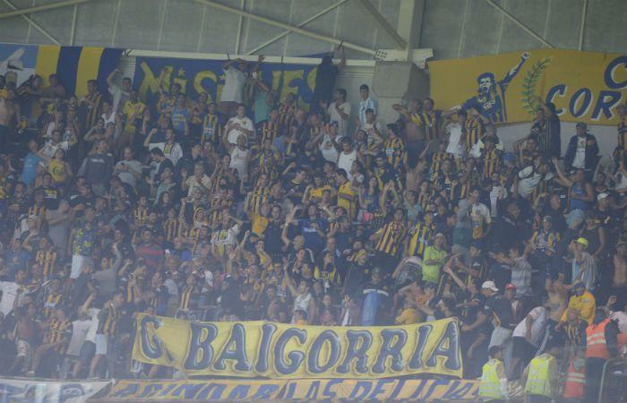 Los hinchas de Central arrasaron con las entradas que puso a disposición Palmeiras. (Foto: Gustavo de los Ríos)