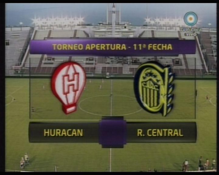 Central buscó el empate pero Huracán aguantó la ventaja con uno menos