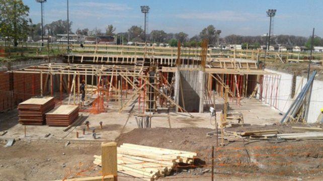 Nuevo Isef en marcha. Las obras anexas al Hipódromo tienen un presupuesto de 300 millones de pesos.