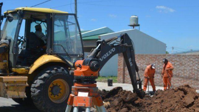 Las máquinas estarán trabajando en diversas calles de la localidad y en la ruta nacional N° 11
