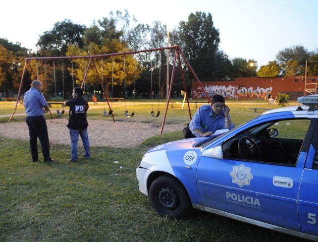 Dos personas resultaron heridas el domingo en el parque Oeste