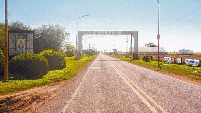 El pueblo. Carreras es una pequeña localidad del departamento General López