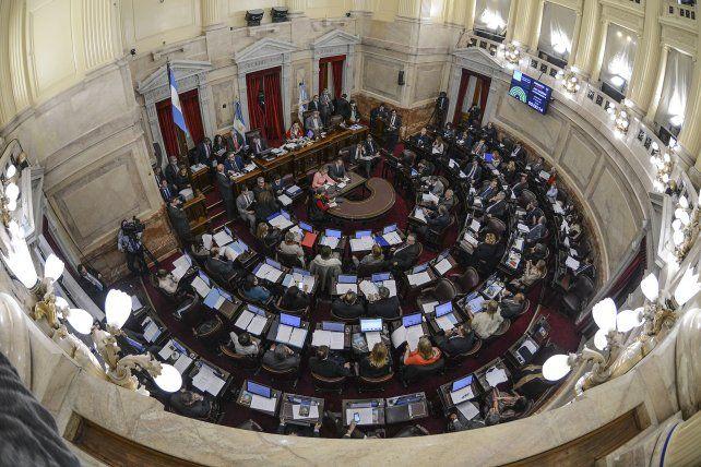 El Senado aprobó la norma en la sesión de hoy.