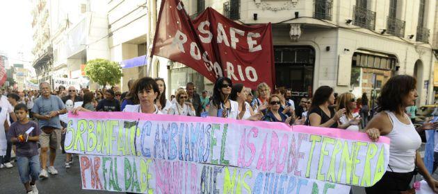 Los maestros públicos de Rosario se movilizarán la semana próxima. (Foto de archivo)