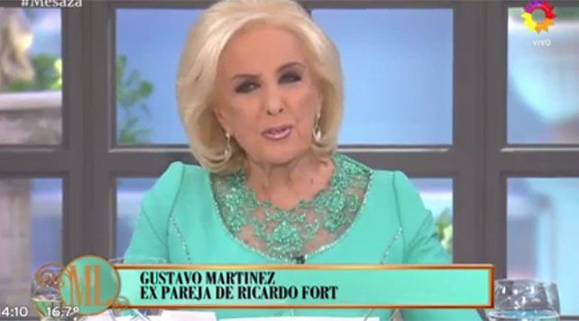 Gustavo Martínez recordó cómo les contó a los hijos de Fort que su padre había muerto
