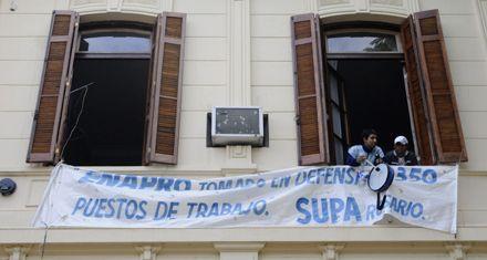 Los portuarios piden a Moyano intervención nacional por el conflicto en Rosario