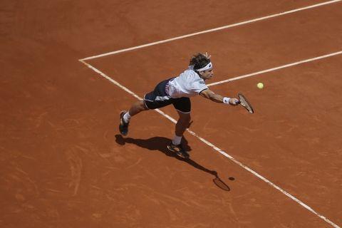 Ferrer por sexta vez consecutiva a los cuartos de final de un torneo de Grand Slam. (Foto: AP)