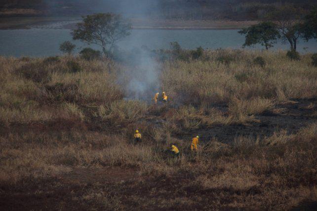 Desde enero hasta la fecha se quemaron unas 6.000 hectáreas en la zona de islas frente a Rosario y la región