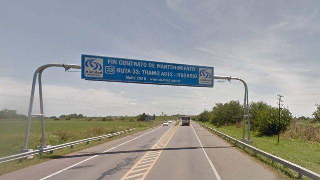 El asalto se produjo cerca del cruce de las rutas A012 y 33.