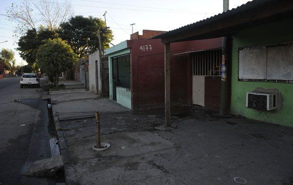Ayacucho al 4100. El hecho ocurrió en una cuadra signada por la violencia.