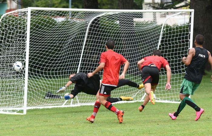 Lucas Boye abrió el marcador ante San Martín. (Twitter @CANOBoficial)