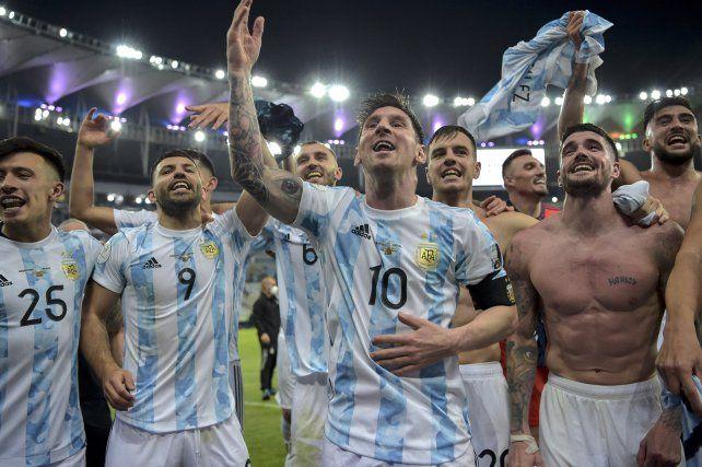 La fiesta es Argentina. Foto Télam.