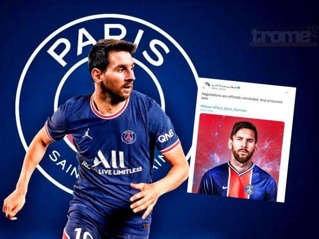 Messi y PSG
