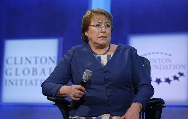Gestión. Michelle Bachelet sigue adelante con su agenda de gobierno.