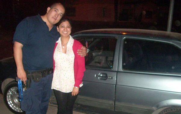 otros tiempos. Mauro y Betiana en 2011