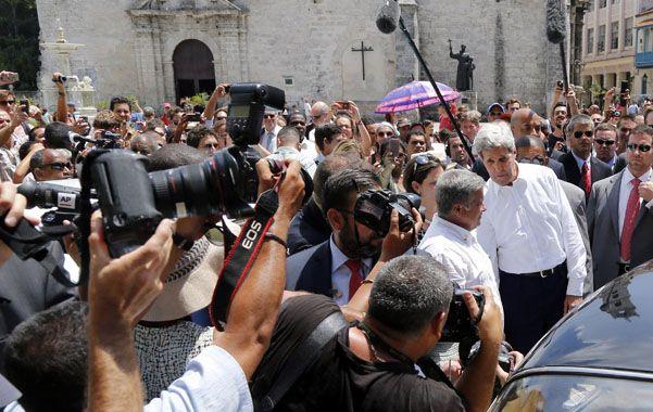 Expectativa. Kerry paseó por La Habana el pasado viernes
