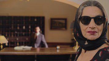 """""""Quería retratarla exacerbando los elementos dramáticos para encontrar la comicidad"""", dijo el director argentino Simón Franco sobre el personaje que interpreta Angela Molina."""