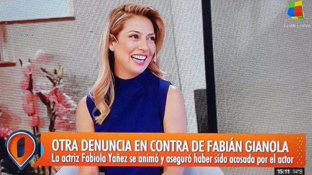 Otra actriz denunció a Gianola por acoso durante una obra de teatro