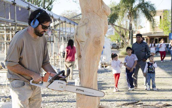 El Paseo de la Estación de Roldán será sede del Simposio Internacional de Escultura.