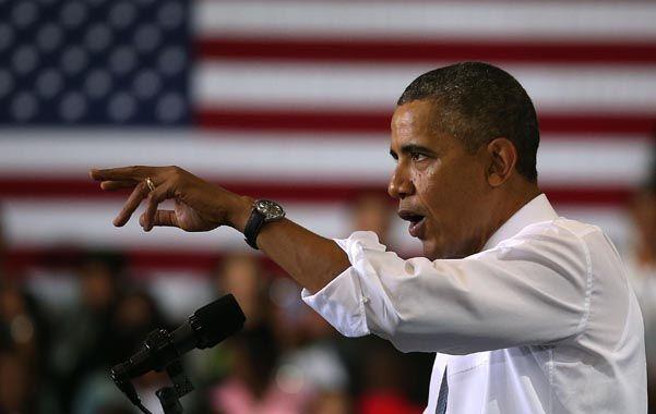 Pulseada. El presidente advirtió que no permitirá que los republicanos acaben o pospongan su plan sanitario.
