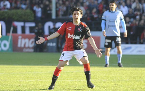 Al Piojo se lo vio un poco lento y sin ritmo en los minutos en que jugó el último domingo ante Belgrano. (Foto: