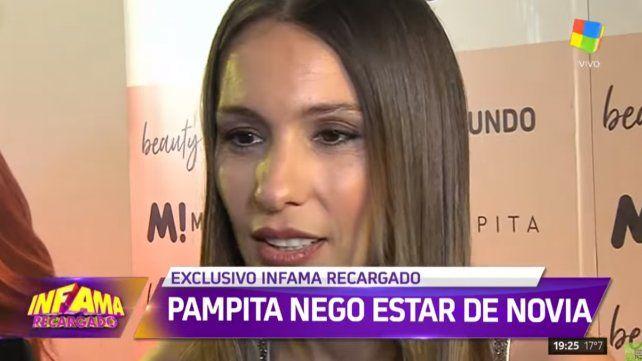 Pampita contó por qué ahora no puede estar de novia