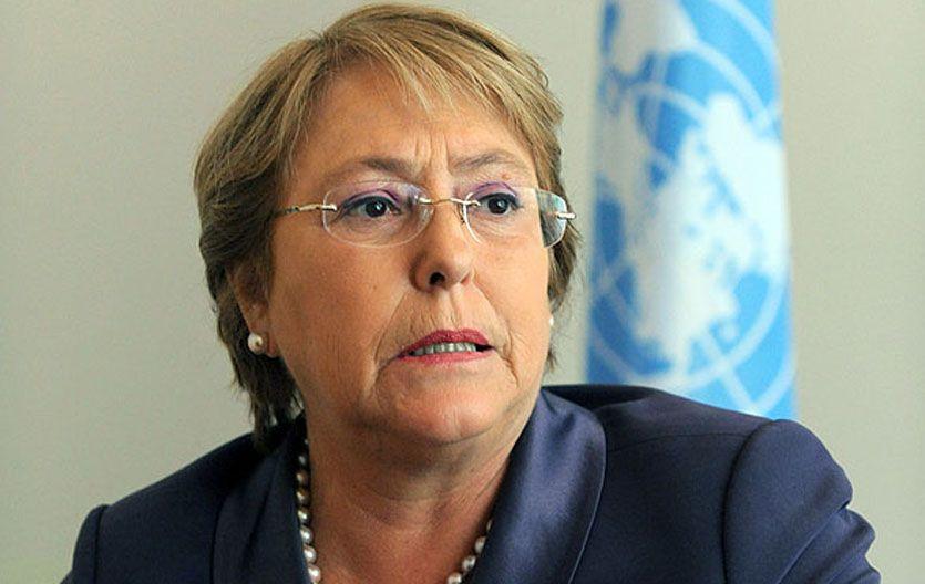 La ex presidenta chilena.