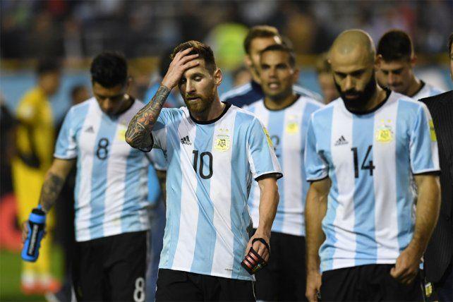 Sabor a nada. Argentina empató con Perú y quedó complicada para ir a Rusia 2018.