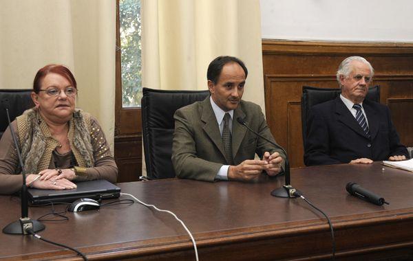 Los jueces Cosidoy (que absolvió a los acusados)