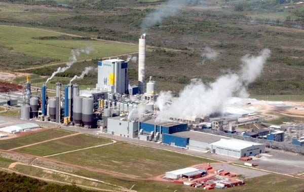 La papelera de capitales finlandeses está instalada en la ciduad uruguaya de Fray Bentos.