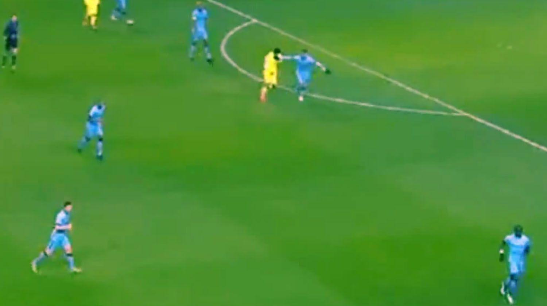 ¿Intentó morderlo? La polémica jugada entre Luis Suárez y Demichelis