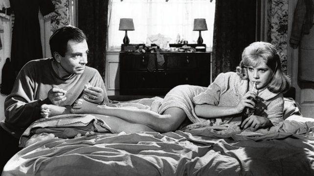 escena icónica. James Mason y Sue Lyon en Lolita