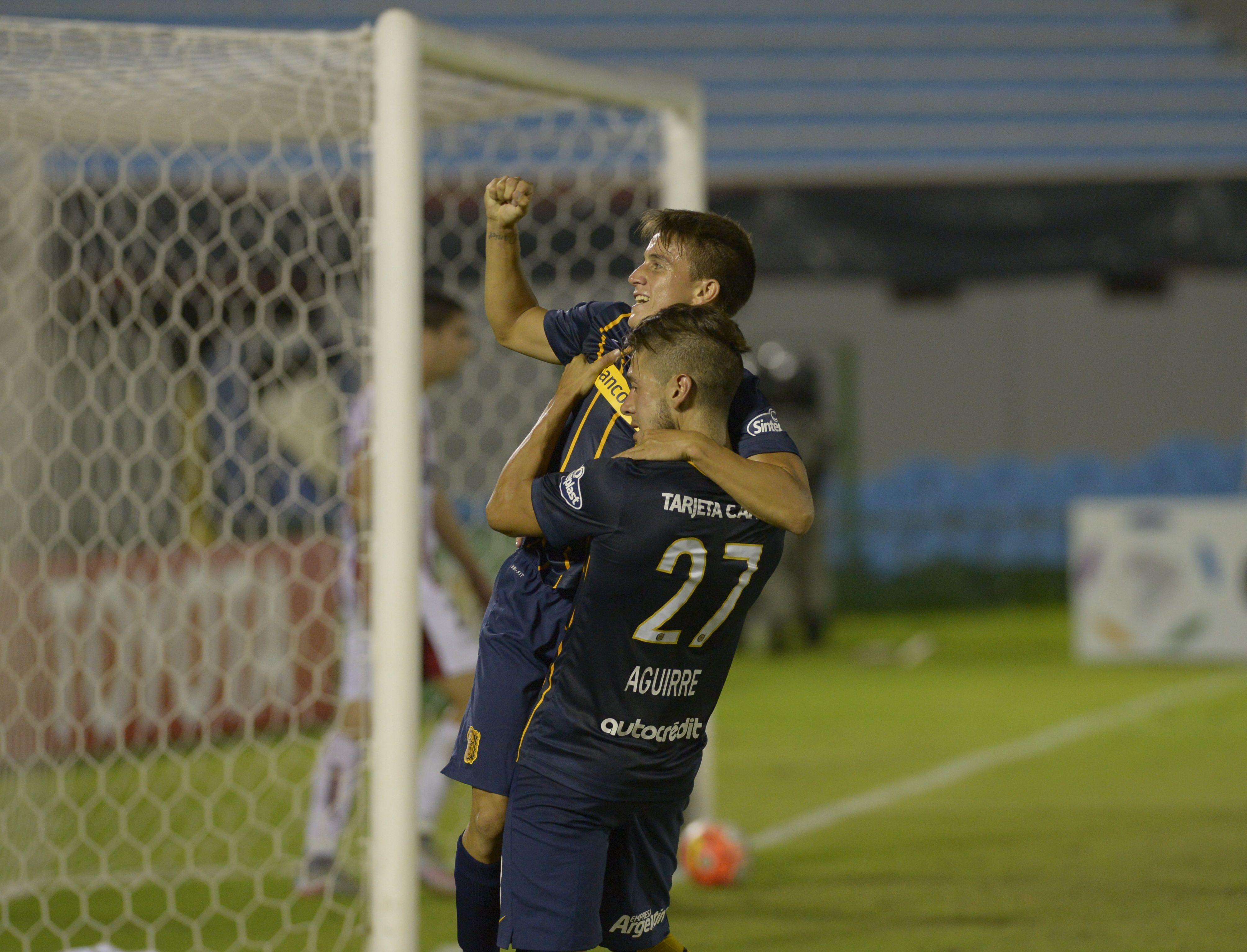 Cervi metió el tercero en el final y Jonás Aguirre