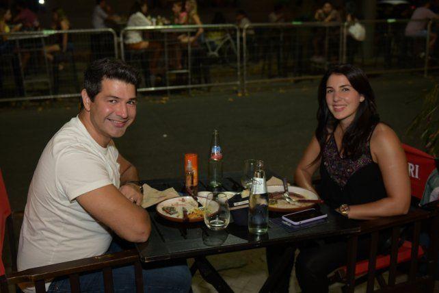 Pablo Palma y Liz Garaffo