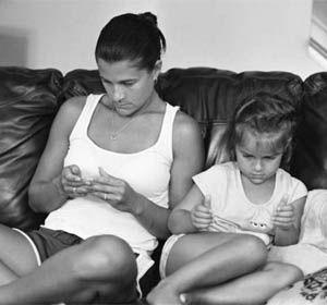 Pickersgill quería mostrar lo nocivos que pueden llegar a ser para las relaciones los dispositivos móviles.