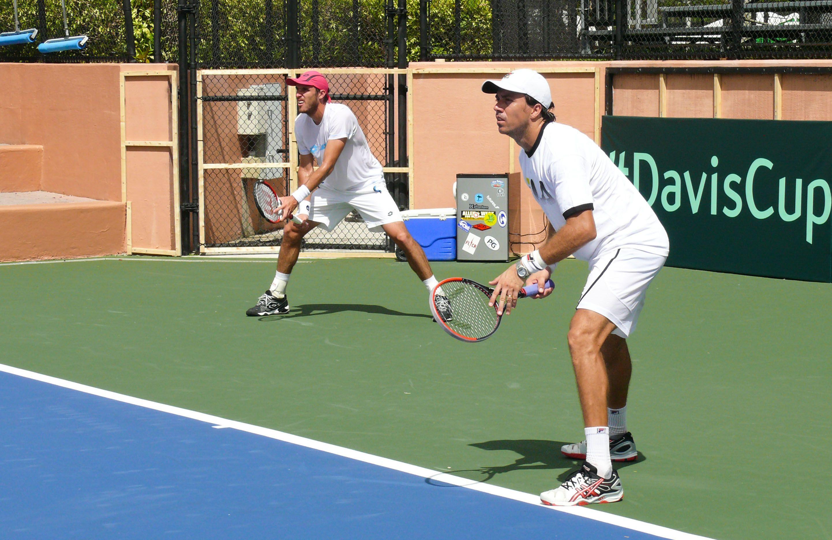 Dobles. Mayer y Berlocq harán pareja en Río. Desde que comenzó el año juegan juntos pensando en la Copa Davis.