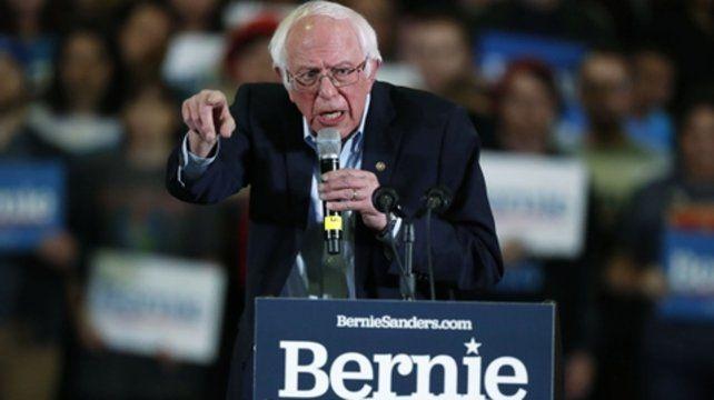 combatiente. El histórico Bernie Sanders es senador por Vermont.