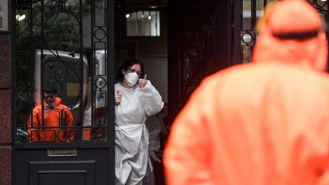 El Ministerio de Salud confirmó 159 nuevas muertes y 7.369 cnotagios