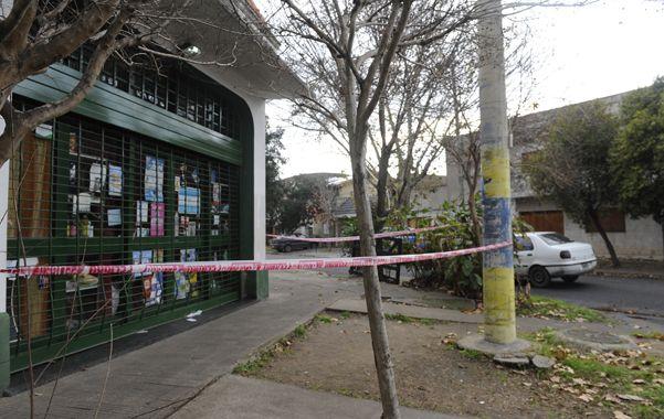 La escena. El almacén donde trabajaba y fue asesinada la víctima.