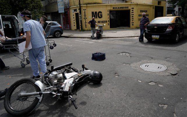 Los accidentes de tránsito bajaron por las restricciones para circular