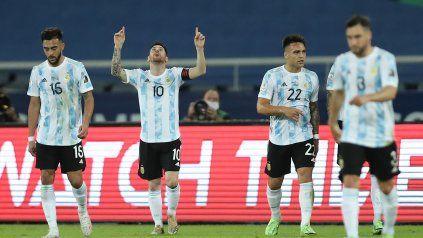 Argentina cometió un error defensivo y Chile llegó a la igualdad tras un penal