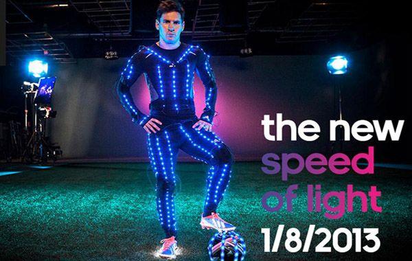 Messi encandila al mundo en la nueva publicidad de Adidas