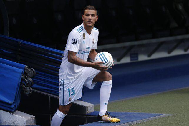Theo Hernández, el nuevo refuerzo de Real Madrid, hizo un papelón en su presentación