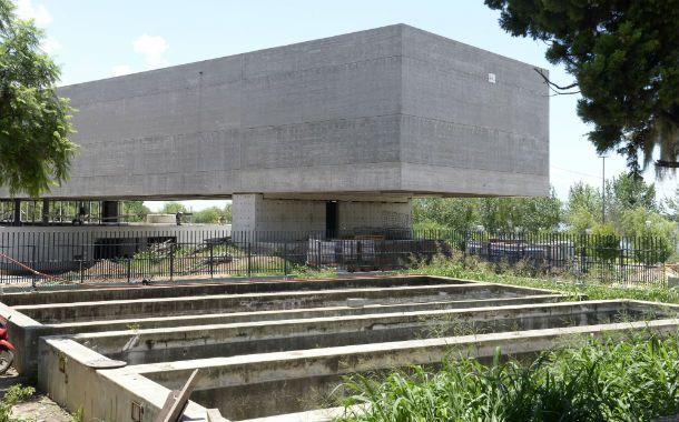 El Acuario de Arroyito. Comenzó a construirse en 2010