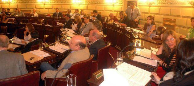 La Cámara de Diputados de Santa Fe. El proyecto de Acuña podra perder estado parlamentario.