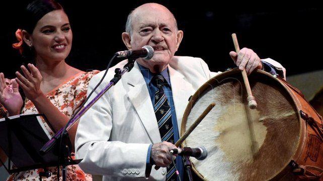 A los 97 años falleció Vitillo Abalos, una leyenda de la música popular argentina